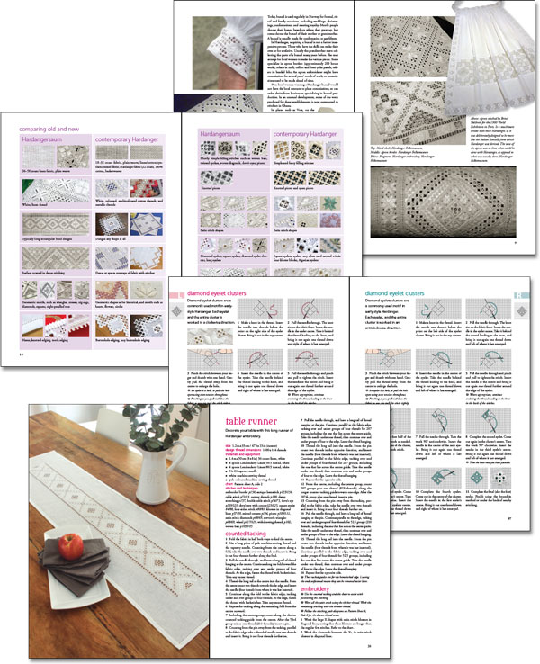Early-Style Hardanger sample pages