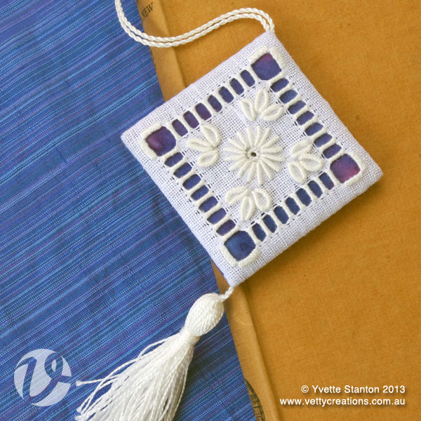 Portuguese whitework bookmark