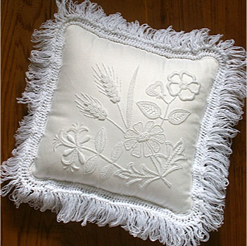Mountmellick wildflower cushion kit